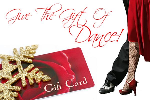 christmas gift cards ballroom dance lessons gift certificates